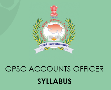 GPSC Account Officer Syllabus 2020