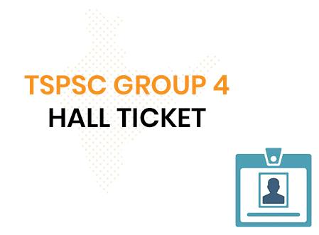 TSPSC Group 4 Admit Card 2020