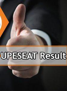 UPESEAT Result 2020