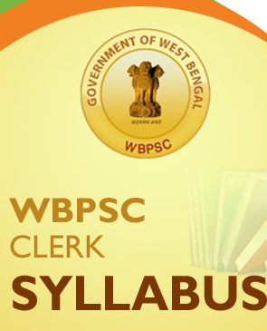 WBPSC Clerk Syllabus 2020