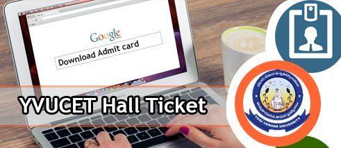 YVUCET Hall Ticket 2020