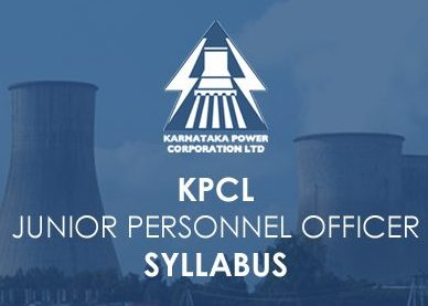 KPCL Junior Staff Officer Syllabus 2020
