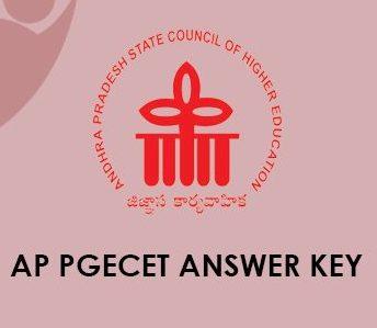 AP PGECET Answer Key 2020