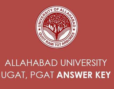 Allahabad University Entrance Exam Answer Key 2020
