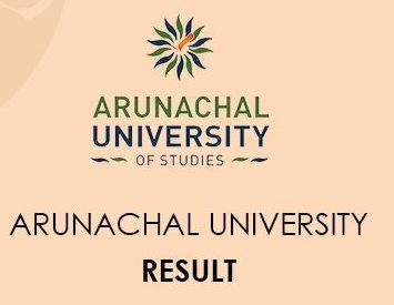 Arunachal University Result 2020