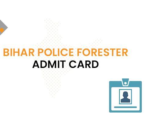 Bihar Police Ranger Admit Card 2020