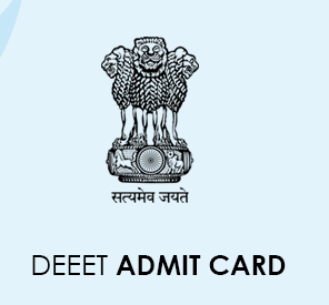 DEEET Admit Card 2020