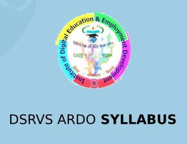 DSRVS ARDO Syllabus 2020