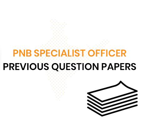 PNB Specialist Officer Previous Question Papers