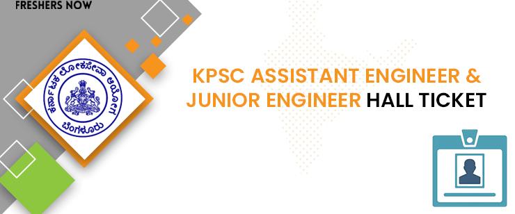 KPSC Auxiliary Engineers Hall Ticket 2020