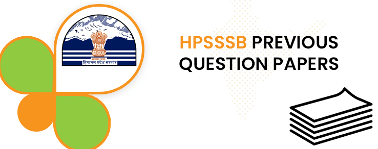 HPSSSB Junior Office Assistant Previous Question Papers
