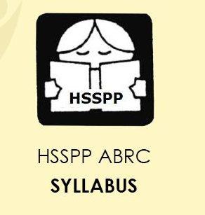 HSSPP ABRC Syllabus 2020