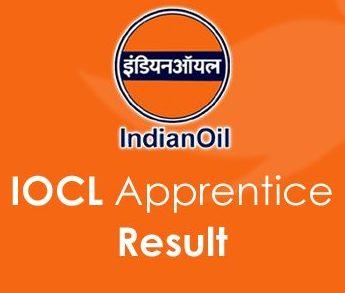 IOCL Trade and Technician Apprentice Result 2020