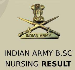 Indian Army Nursing Bachelor Result 2020