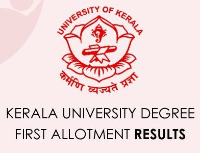 Kerala University Degree First Assignment Result 2020