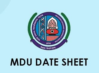 MDU Time Table 2020