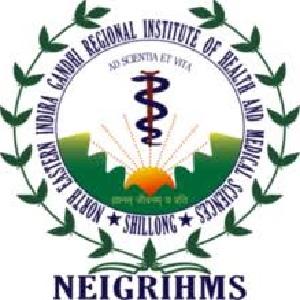 NEIGRIHMS Job Recruitment 2020