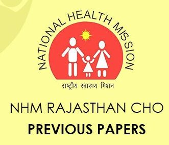 NHM Rajasthan CHO Previous Question Papers
