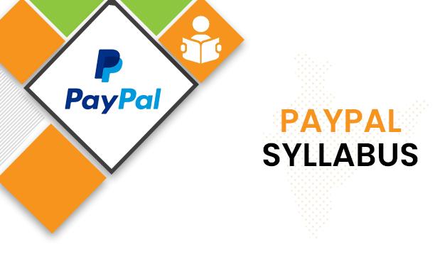 Paypal Syllabus 2021