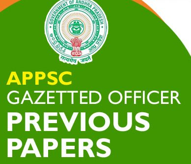 APPSC Previous Question Papers