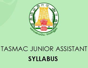 TASMAC Junior Assistant Syllabus 2020