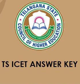 TS ICET Answer Key 2020