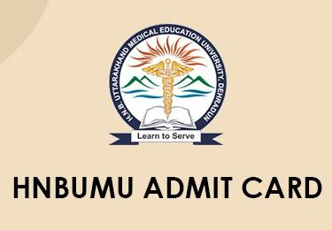 HNBUMU Admit Card 2020