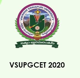 VSUPGCET 2020 Application form