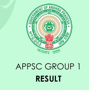 APPSC Group 1 Result 2020