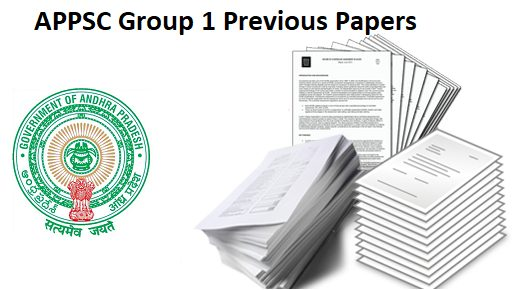 APPSC Group 1 Previous Question Papers
