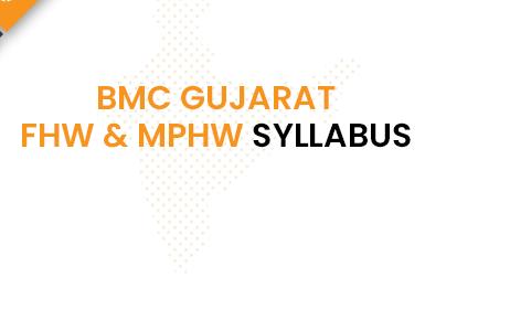 BMC Gujarat FHW Syllabus 2020