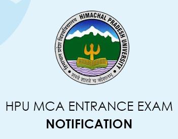 HPU MCA Entrance Exam 2020