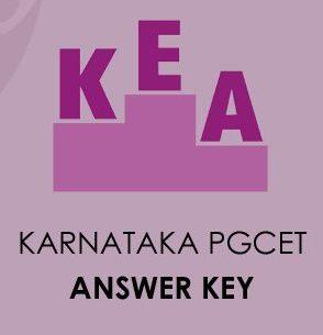 Karnataka PGCET Answer Key 2020
