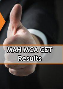 MAH MCA CET Result 2020