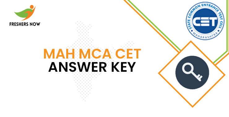 MAH MCA CET Answer Key 2020 PDF | MAH MCA CET Answer Sheet