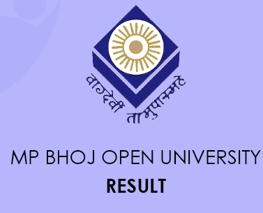MP Bhoj Open University Result 2020