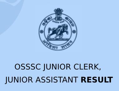 OSSSC Junior Assistant Result 2020