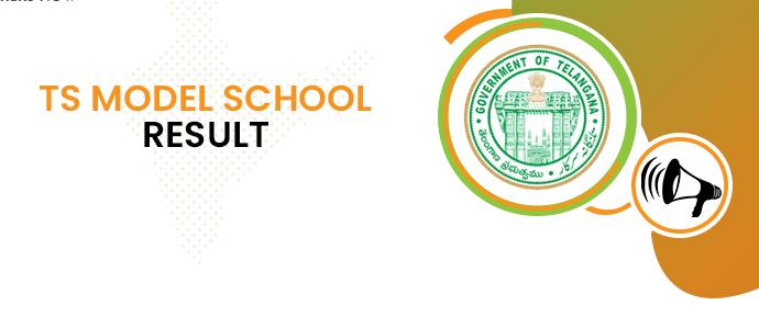 TS Model School Exam Result 2020