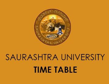 Saurashtra University Calendar 2020