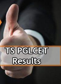 TS PGLCET Result 2020