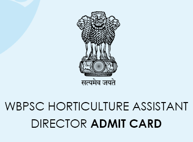 WBPSC Horticulture Assistant Director Admit Card 2020