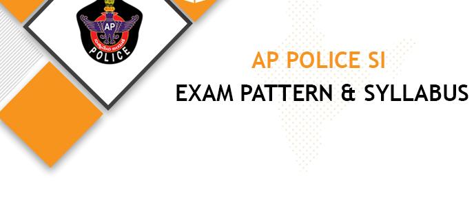 AP Police SI Syllabus 2020-2021