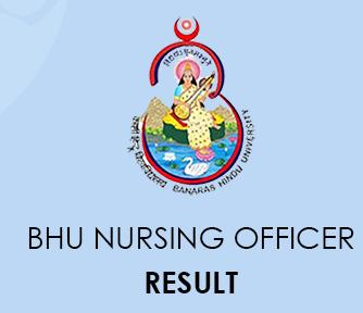 BHU Nursing Officer Result 2020