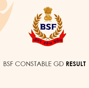 BSF Constable GD Result 2020