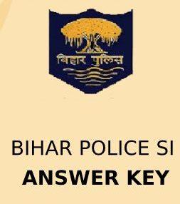 Bihar Police SI Answer Key 2020