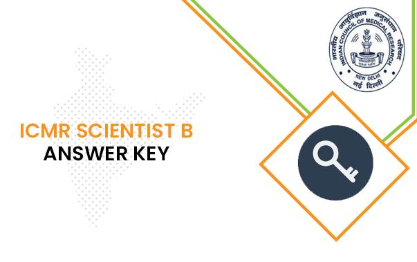 ICMR Scientist B Answer Key 2020