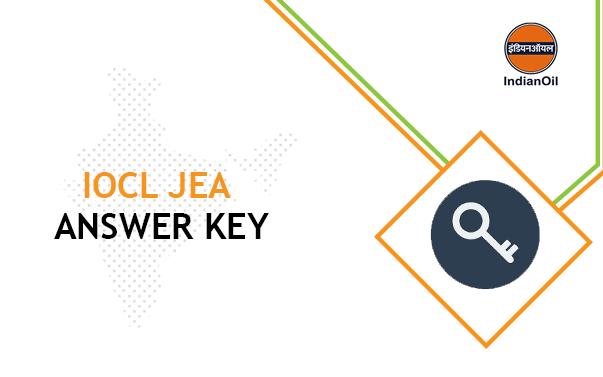 IOCL JEA Answer Key 2020