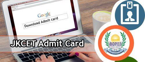 JKCET Admit Card 2020