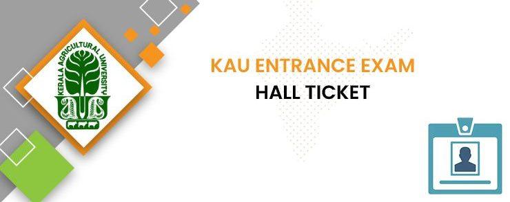 KAU Entrance Exam Admit card 2020