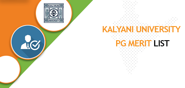 Kalyani University PG Merit List 2020